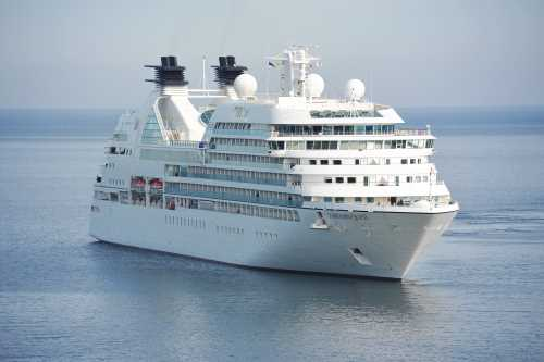 Image of a cruise liner