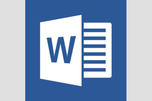 Image of the Microsoft Word logo